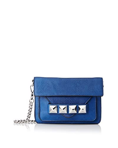 Linea Pelle Collection Women's Grayson Bar Bag, Azul