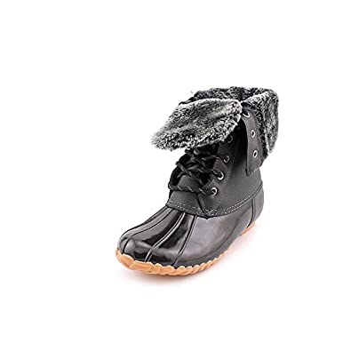Luxury Crocs All Cast Leather Duck Women39s Boots Amazoncouk Shoes Amp Bags