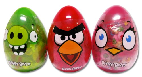 Trio of angry birds easter eggs red bird pink bird pig - Angry birds trio ...