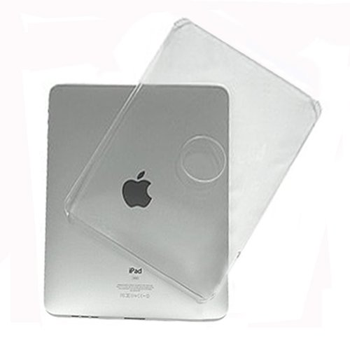 GSI Super Quality Light-Weight Hard-Shell Crystal Clear Transparent Skin Case for Apple iPad 3G/Wifi Tablet - Snap-On Ultra Protection From Damage and Impact