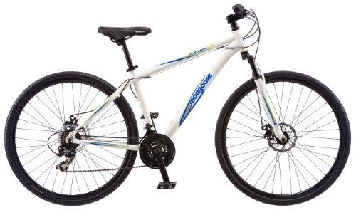 Mongoose-Mens-Banish-20-Hybrid-Bike-White-18-InchMedium