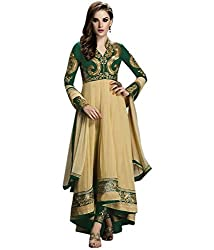 Shree Khodal Women's Green Georgette Dress Material [SK_JCN1022A_E]