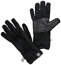 Columbia Adult Pearl Plush Heat Gloves, Black, Small