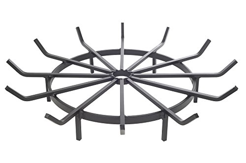 Heritage-Products-Wagon-Wheel-Firewood-Grate-for-Fire-Pit