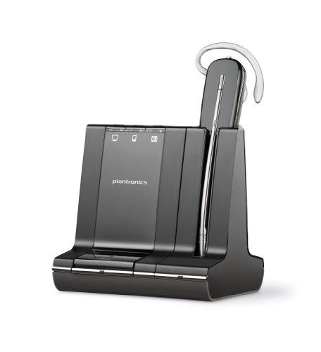Plantronics W740-M SAVI Wireless MOC UK Convertible DECT Headset