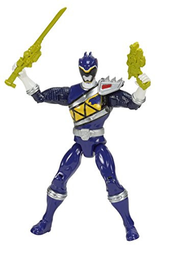 "Power Rangers Dino Super Charge Action Figure, 5"", Blue"
