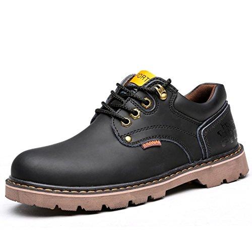 Le printemps de l'Angleterre hommes/chaussures de sport pour hommes/Chaussures en cuir en vrac/Ainsi que des chaussures de velours/Round pour aider les chaussures basses d'outillage