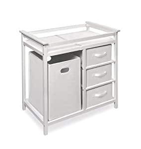badger basket modern changing table with 3