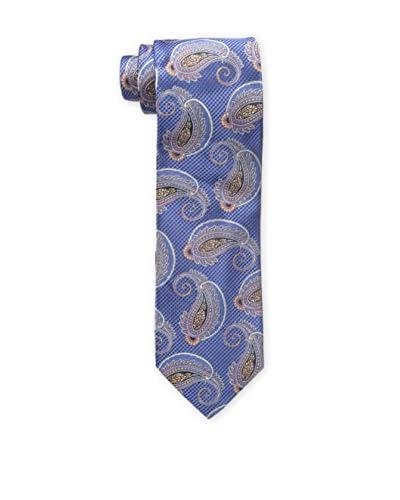 Bruno Piattelli Men's Paisley Multi Tie, Blue