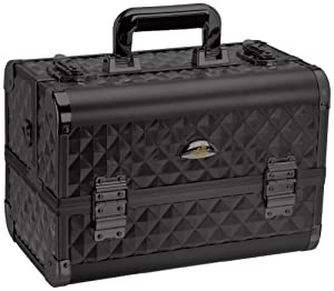 SHANY Cosmetics SHANY Premium Collection Makeup Train Case, Black Diamond