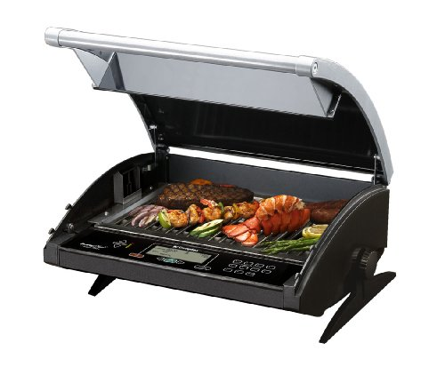 Dimplex CBQ-120-ELE Portable Convertible PowerChef 216-Square-Inch Electric Grill