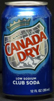 Canada Dry Diversion Safe - Club Soda