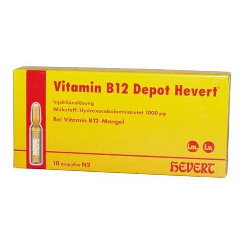 Vorschaubild: VITAMIN B12 Depot Hevert Ampullen