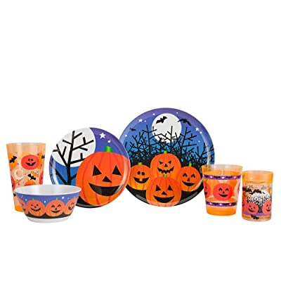 Zak Designs Halloween Dinnerware