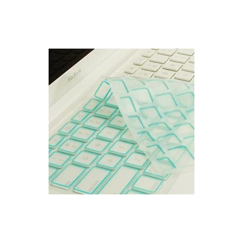 NEW ARRIVAL TopCase® LIGHT BLUE Silicone Keyboard Cover Skin
