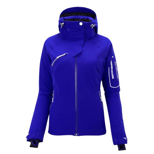 Salomon Speed II Jacke - Frauen-Dark Violet Blue-S