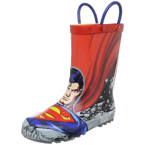 Western Chief Superman Rain Boot (Toddler/Little Kid/Big Kid),Red,5 M Us Toddler front-1048382