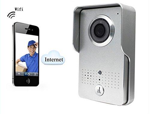 Wireless Wifi Door Bell Camera Intercom Doorbell with Smartphone Control