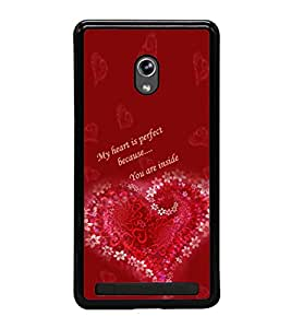 ifasho Designer Phone Back Case Cover Asus Zenfone 5 A501CG ( Quotes on Attitude Life Boys Things )