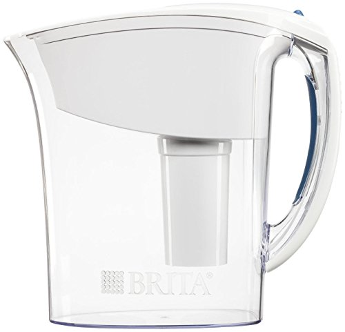 Brita Atlantis Water Filter Pitcher, White, 6 Cup Image