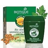 Biotique Almond Under Eye Cream For Dark Circles & Puffiness 16 g by Biotique BEAUTY