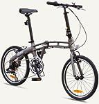 "GOTHAM2 Citizen Bike 20"" 7-Speed Folding Bike with Alloy Frame (Graphite) by Citizen Bike"