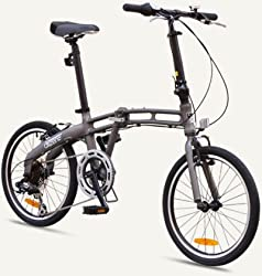 "GOTHAM2 Citizen Bike 20"" 7-Speed Folding Bike with Alloy Frame (Graphite) by Citizen Bike"