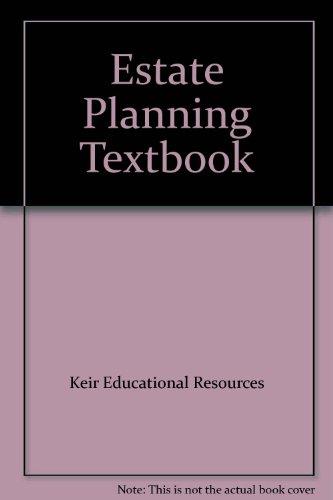 Estate Planning Textbook