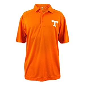 Tennessee Volunteers Mens Cutter and Buck Drytec Orange Genre Polo by Cutter & Buck