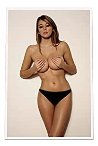 Amazon.com: Keeley Hazell 24X36 Bordered Poster #KHAZ7: Posters