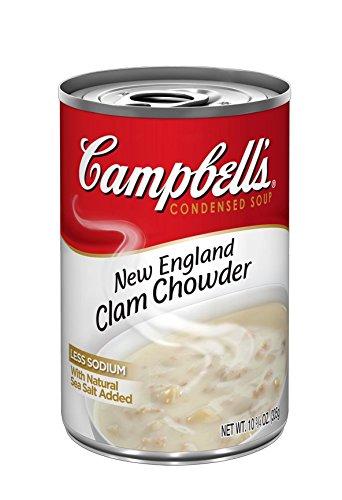 キャンベル ニューイングランドクラムチャウダー EO缶 298g×4缶