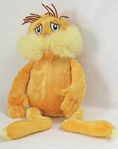 "Dr. Seuss The Lorax Plush: Kohls (16"")"