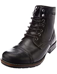 Red Tape Men's Leather Boots - B00NP00ASY