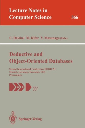 Deductive and Object-Oriented Databases: Second International Conference, DOOD'91, Munich, Germany, December 16-18, 1991. Proceedings