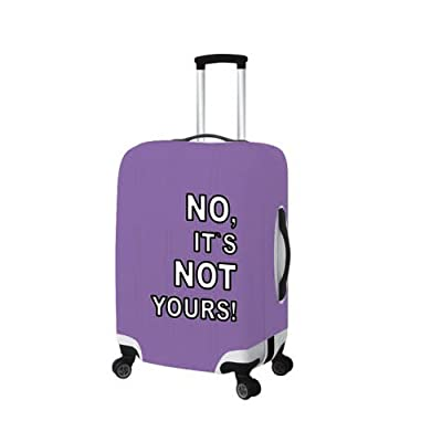 Wheeled Duffel Bag Luggage Suitcase Protector Cover M Purple by Anjie