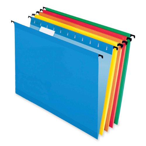 Sure Hook Hanging File Folder, Assorted ( Blue,