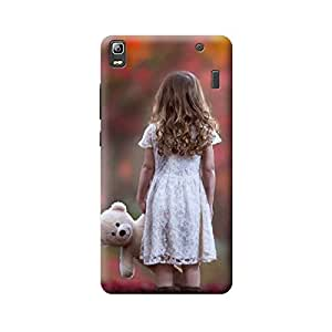 Digi Fashion Designer Back Cover with direct 3D sublimation printing for Lenovo A7000