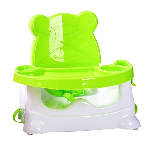 Baby-Chair-Finer-Shop-Cartoon-Bear-Design-Folding-Baby-Zusatzsitz-Dinette-fr-Haus-und-Kindergarten-Grn
