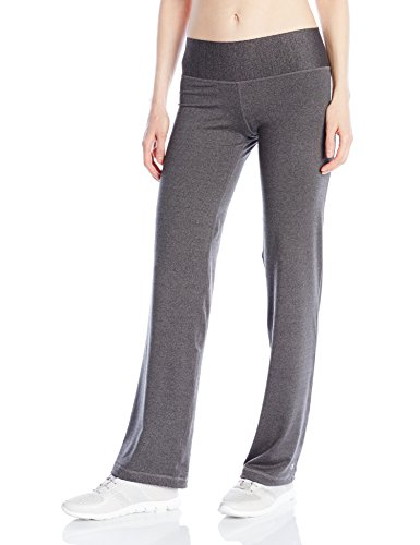 Champion Women's Absolute Semi-Fit Pant with Smoothtec Waistband, Granite Heather, Medium