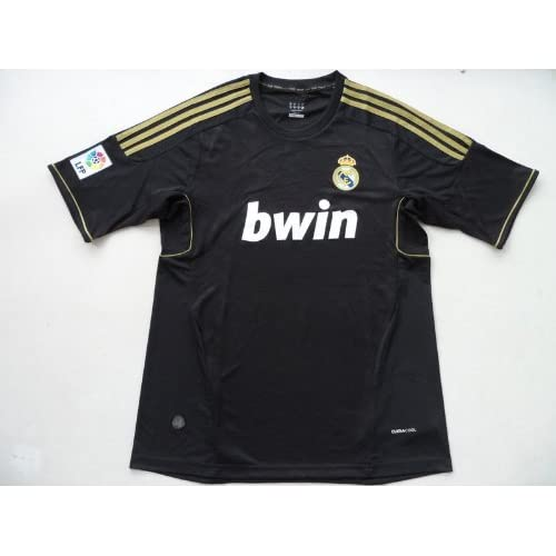 2011 2012 real madrid jersey black away soccer jerseys shirts thailand quality