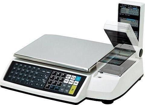 GundG bon imprimante rM50EL digi - 15 x 15 kg/5 g avec connecteurs