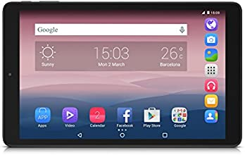 "Alcatel Pixi3 Tablette tactile 10"" (25,40 cm) (8 Go, Android, 1 Port USB 2.0, Wi-Fi, 1 Prise jack Noir)"