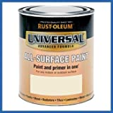 Rust-Oleum RO0030110G1 750ml Universal Paint - Gloss Heirloom White