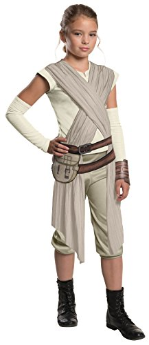 620090 (12-14) Kids Deluxe Rey Costume (Deluxe Child Princess Leia Costume)