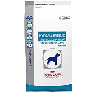 ROYAL CANIN Canine Hypoallergenic Hydrolyzed Protein Moderate Calorie Dry (24.2 lb)