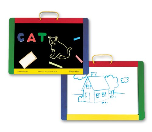 Melissa & Doug Magnetic Chalk Dry Erase Board