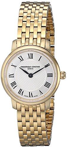 Frederique Constant Geneve Slimline FC-200MCS5B Reloj elegante para mujeres Fabricado en Suiza