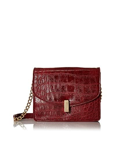 Kenneth Cole REACTION Women's Winged Victory Shoulder Bag, Bright Red As You See