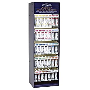 Artist's Water Color Paints Display Assortments