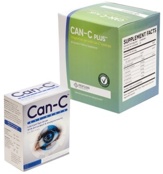 Can-c Eye Drops 2 X 5ml & Can-c Plus 90 Tablets (Can C Drops compare prices)